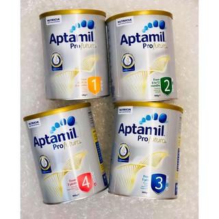 Sữa Aptamil Profutura Úc số 1-2-3-4 900g( cam kết hàng chuẩn xách tay Airline ), sữa aptamil