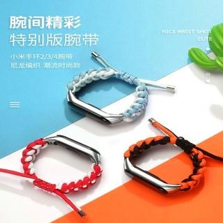 Dây Đeo Vải Dệt Cho Đồng Hồ Thông Minh Xiaomi Band 4 / 3