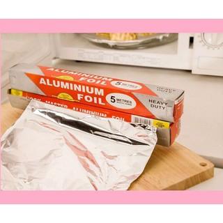 Màng nhôm bọc thực phẩm SIÊU HÓT Cuộn giấy bạc bọc thức ăn thumbnail