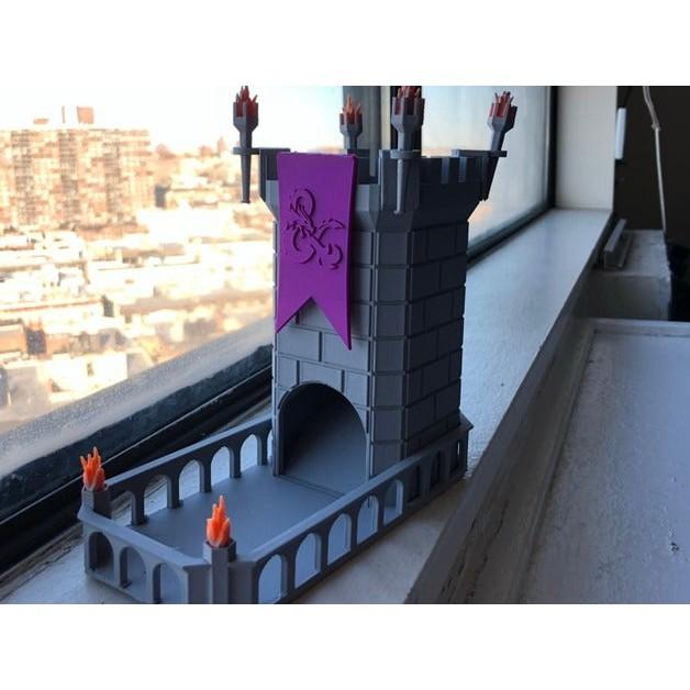[Mã TOYJAN hoàn 20K xu đơn 50K] Tháp xúc xắc thời trung cổ - Dice Tower