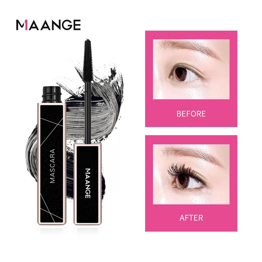 Mascara MAANGE Chuốt Mi/ Lông Mày Dày Hiệu Quả