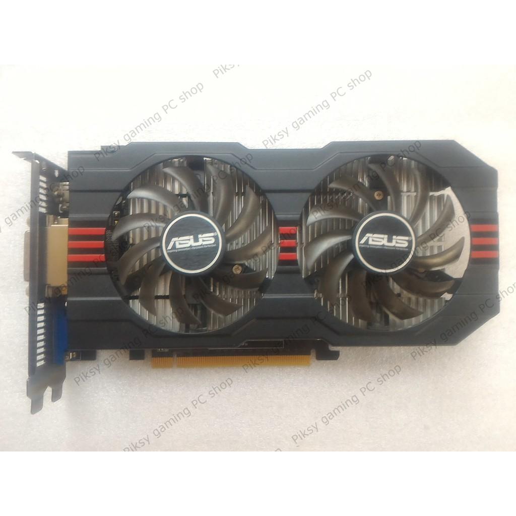 Card màn hình Asus GeForce GTX 750 Ti 2GB GDDR5 (GTX750TI-OC-2GD5)