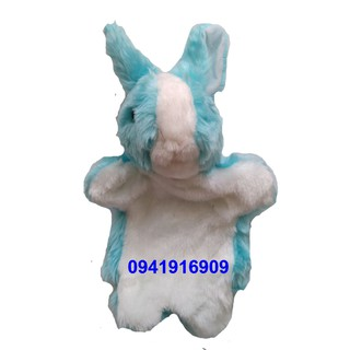 Rối tay thỏ xanh