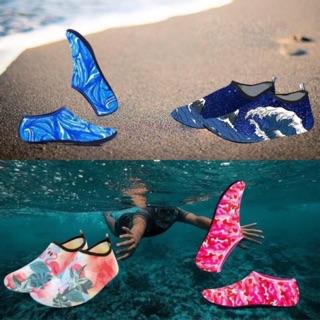 [ Đủ size trẻ em và người lớn] Giày đi biển- Giày đi bơi - giày đi trên cát thumbnail
