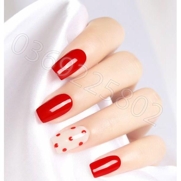 [Mã COSHOT11 giảm 10% đơn 350K] Sơn gel AS đỏ , Maratasa red JH