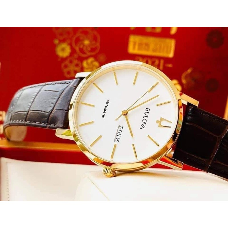 Đồng hồ nam BULOVA 97C CLASSIC AUTOMATIC SALE OFF 70%
