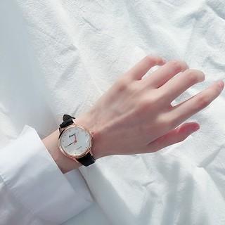 ( Giá Sỉ ) Đồng hồ thời trang nữ Kassigi dây da mặt tròn siêu đẹp SC4199