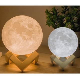 Đèn ngủ mặt trăng Moon Light 3D cảm ứng [ Loại 3, 7, 16 Màu ]
