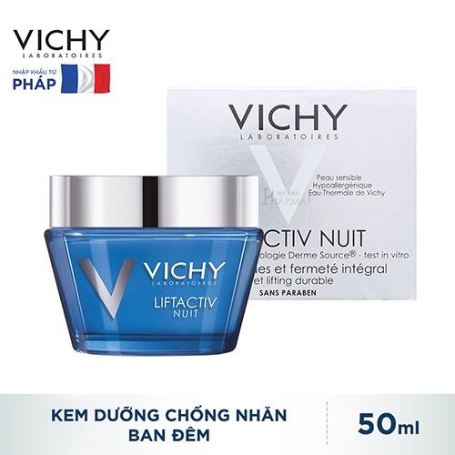 Kem Dưỡng Vichy Liftactiv Chống Nhăn & Làm Săn Chắc Da (Ban Đêm) 50ml_3337871322502