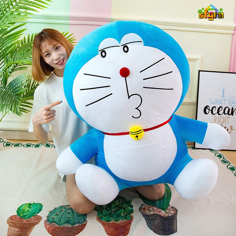 Sfyre Doraemon Doll Plush Soft Toy Large Jingle Cat Doll Cartoon Anime For Girls Birthday Gifts