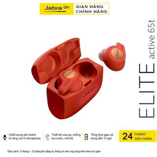 Tai Nghe Bluetooth True Wireless Jabra Elite Active 65T - Hàng Chính Hãng