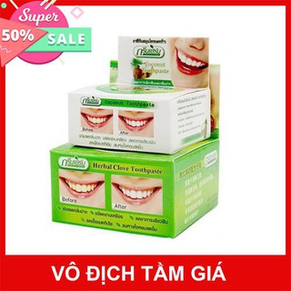 Kem tẩy trắng răng Green Herb Thái Lan 25g