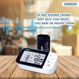 Máy đo huyết áp bắp tay Omron HEM_7361T Cảnh Báo Đột Quỵ