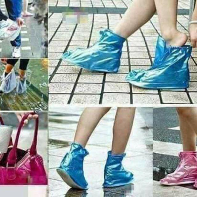Combo 50 ủng lót giầy đi mưa(sỉ 19k/đôi)