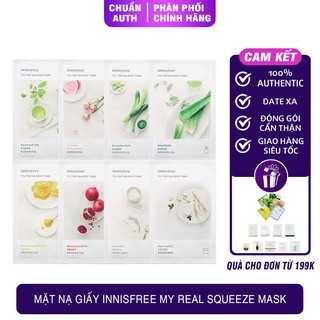 Mặt Nạ Giấy Innisfree My Real Squeeze Innisfree Mask Innisfree ( Mẫu Mới ) thumbnail