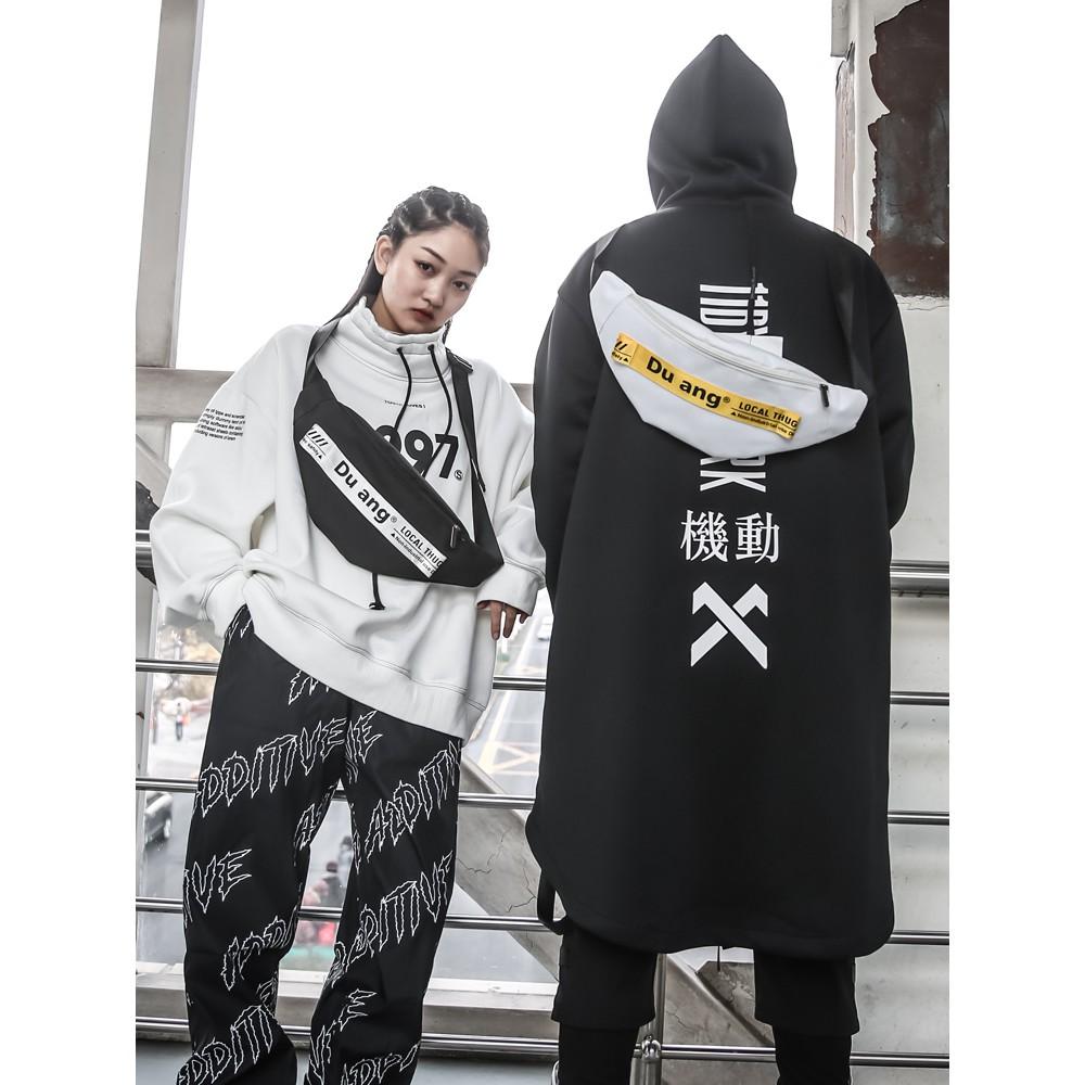 2019 new personality multi-function female Korean chest bag