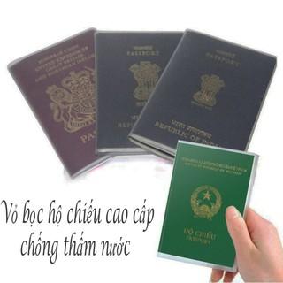 Vỏ bọc hộ chiếu bảo vệ không thấm nước sạch sẽ gọn gàng tiện ích 00244 thumbnail