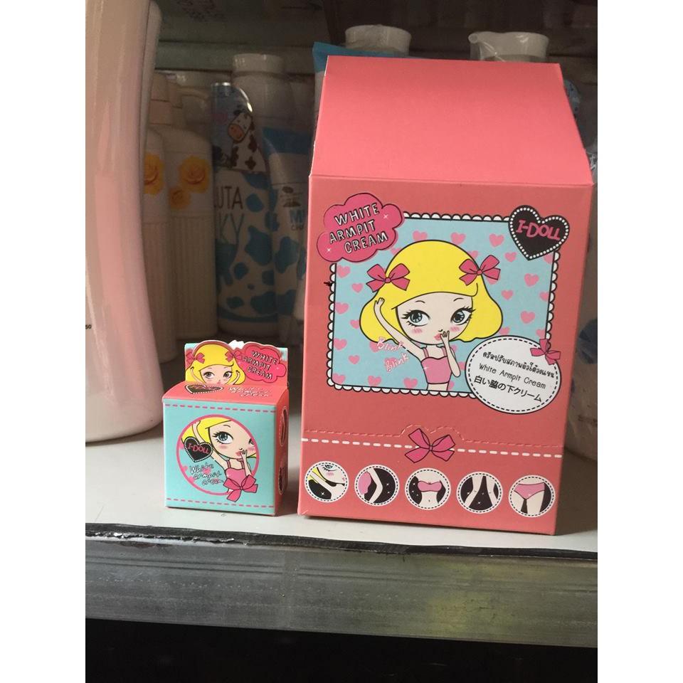 Kem Trị Thâm Nách I-doll White Armpit Cream - Thái Lan