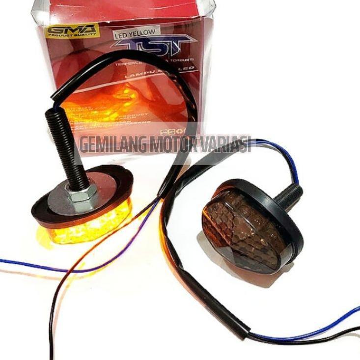 Đèn Led xi nhan Mini R15 V3 V2 Cbr 150R Gsx R150 Ninja TST GMA hình Oval cho xe hơi