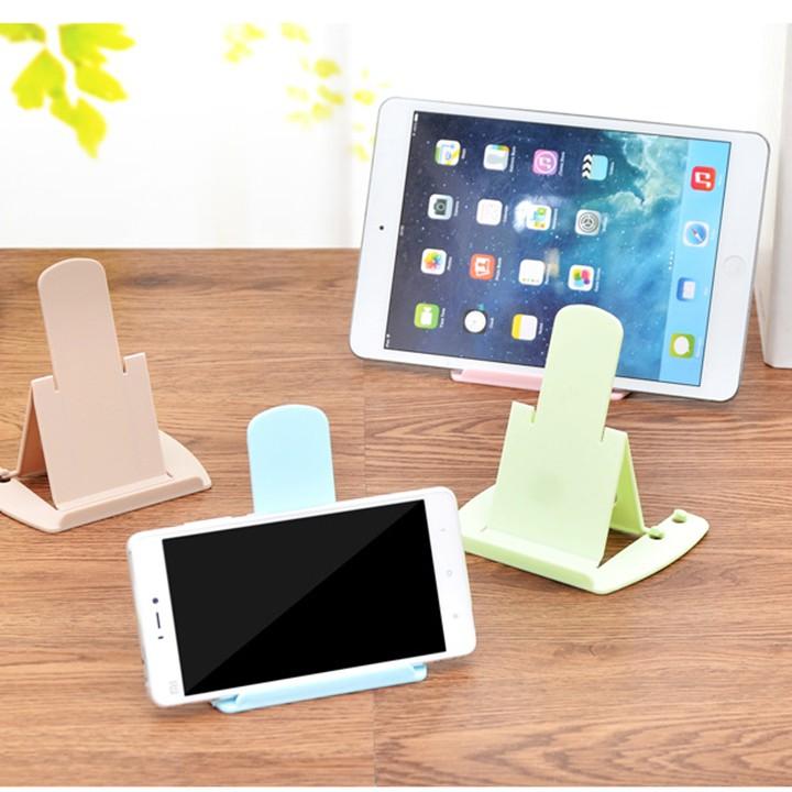 Giá đỡ điện thoại gấp gọn 2 nấc điều chỉnh độ cao bằng nhựa nhiều màu youngcityshop 30.000