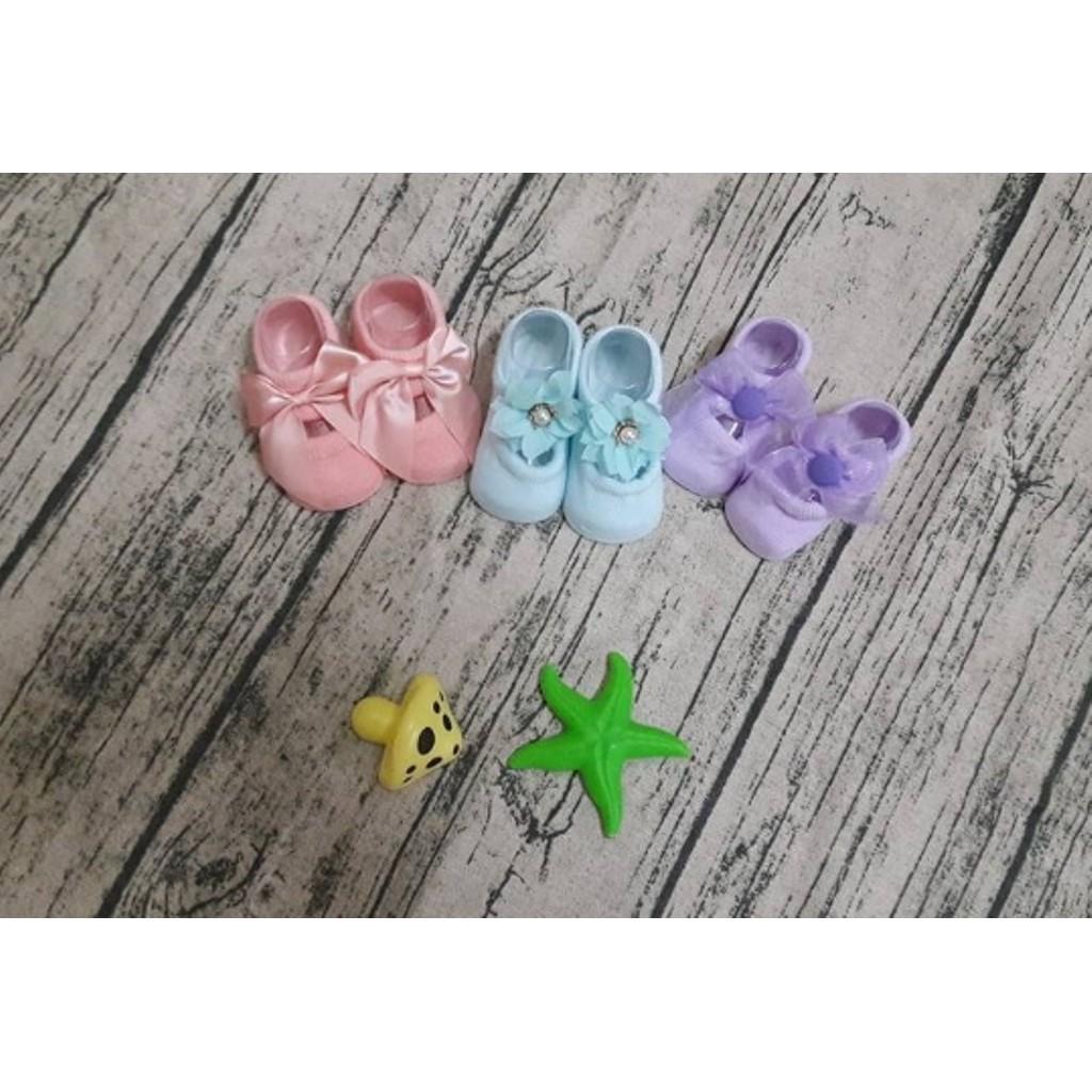 [SIÊU KM] thời trang sơ sinh cho bé - Combo 3 đôi Tất hài sơ sinh cho bé gái - RẺ NHẤT VN