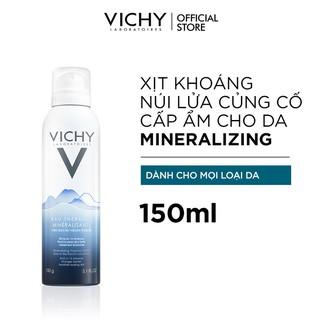 [Cam Kết Auth] Nước khoáng dưỡng da Vichy Mineralizing Thermal Water 150ml