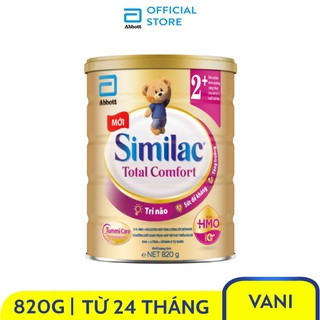 Sữa bột Similac Total Comfort 2+ (HMO) 820g