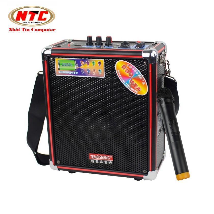 Loa bluetooth USB thẻ nhớ kèm karaoke Temeisheng Q5S-16T + Tặng kèm Micro có dây và Cốc sạc UH102 - 2499715 , 540559103 , 322_540559103 , 938000 , Loa-bluetooth-USB-the-nho-kem-karaoke-Temeisheng-Q5S-16T-Tang-kem-Micro-co-day-va-Coc-sac-UH102-322_540559103 , shopee.vn , Loa bluetooth USB thẻ nhớ kèm karaoke Temeisheng Q5S-16T + Tặng kèm Micro có dâ