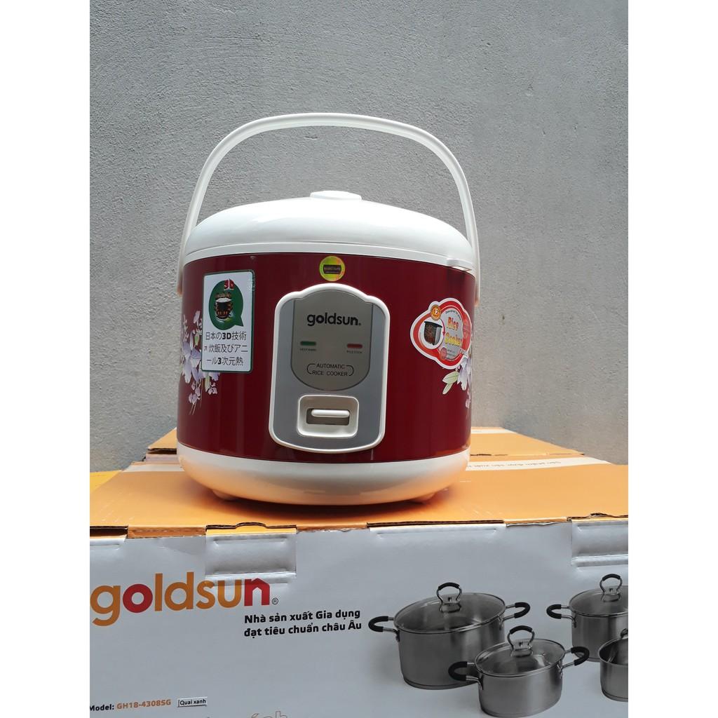 Nồi cơm điện Goldsun ARC-G181XD 1,8lit - 2705737 , 1066680803 , 322_1066680803 , 900000 , Noi-com-dien-Goldsun-ARC-G181XD-18lit-322_1066680803 , shopee.vn , Nồi cơm điện Goldsun ARC-G181XD 1,8lit