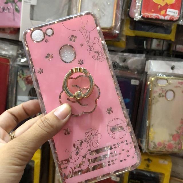 Oppo F5 ốp lưng viền dẻo màu hồng kèm iring siêu đẹp - 2836568 , 1173355246 , 322_1173355246 , 55000 , Oppo-F5-op-lung-vien-deo-mau-hong-kem-iring-sieu-dep-322_1173355246 , shopee.vn , Oppo F5 ốp lưng viền dẻo màu hồng kèm iring siêu đẹp