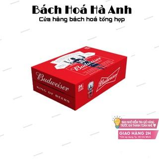 Bia Budweiser – Thùng 24 lon 330ml [Date 30/10/2021]