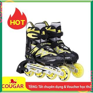 test Giày Patin Trẻ Em Cougar 835L