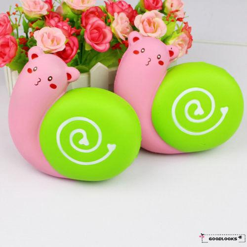 HGL♪New quishy Snail 11cm Soft Sweet Slow Rising With Packaging Collection