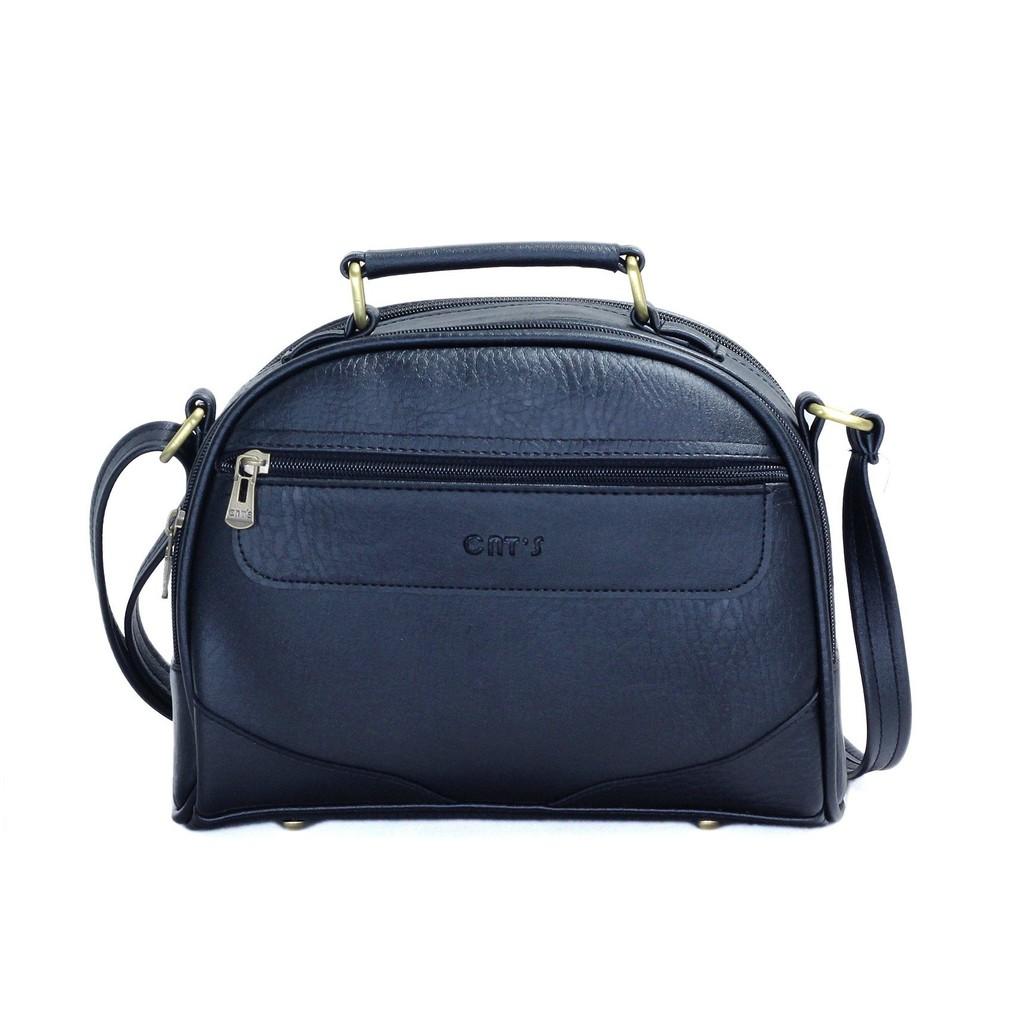 Túi đeo chéo nữ CNT TĐX42 cao cấp ĐEN