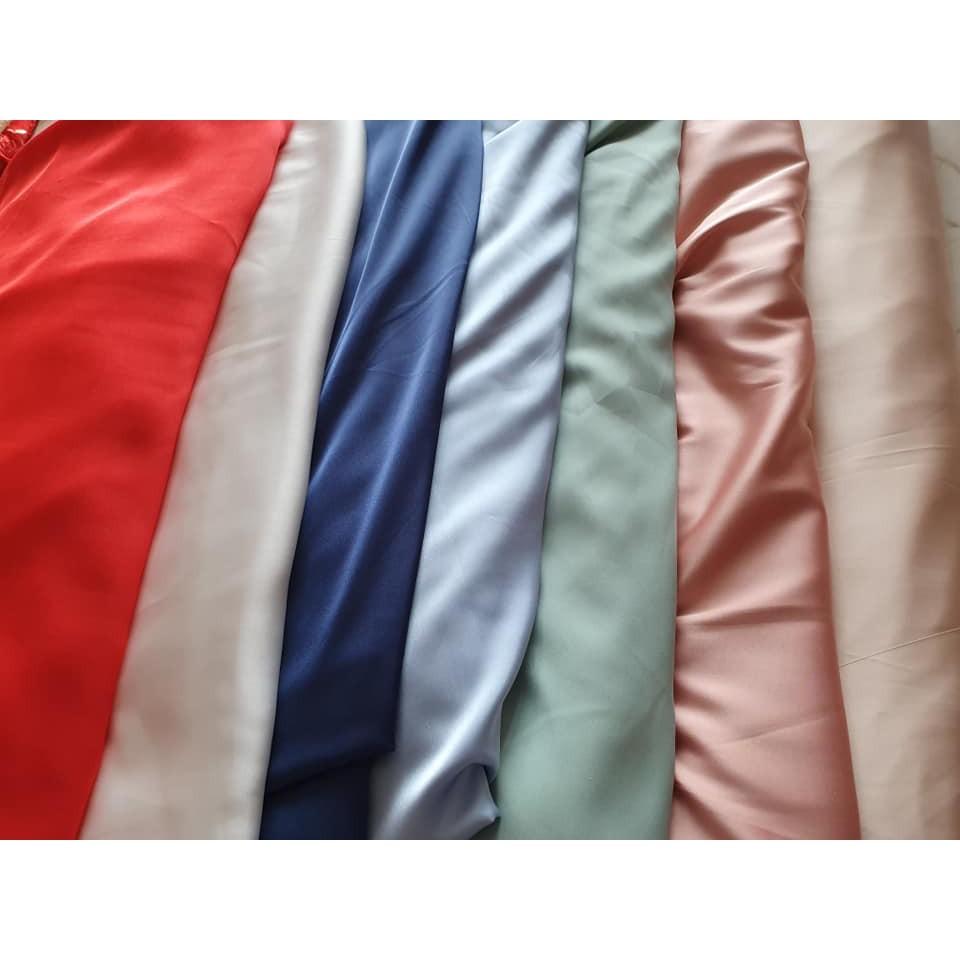 Vải Lụa Satin