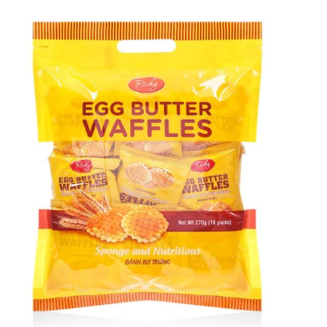 Bánh bơ trứng Richy 270g - 2526541 , 319682564 , 322_319682564 , 50000 , Banh-bo-trung-Richy-270g-322_319682564 , shopee.vn , Bánh bơ trứng Richy 270g
