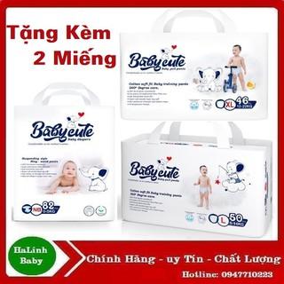 Bỉm Quần Dán Baby Cute size (NB82-S72-M60-M52-M52-L50-XL46-XXL44). thumbnail