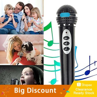 【Ready Stock】Children Girls Boys Microphone Mic Karaoke Singing Kids Funny Music Toy Gift