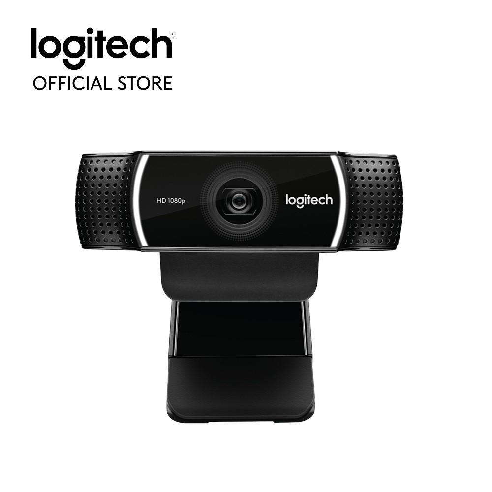 Webcam Logitech C922 Pro Full HD (Đen) - Hãng phân phối chính thức