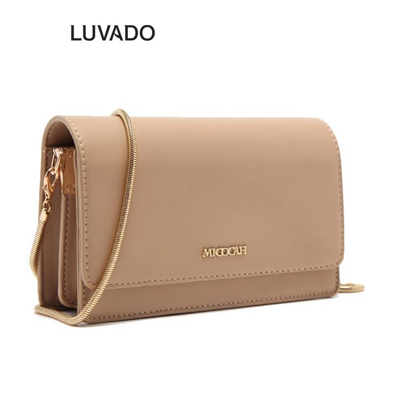 Túi xách nữ đẹp MICOCAH đeo chéo thời trang cao cấp LUVADO TX491
