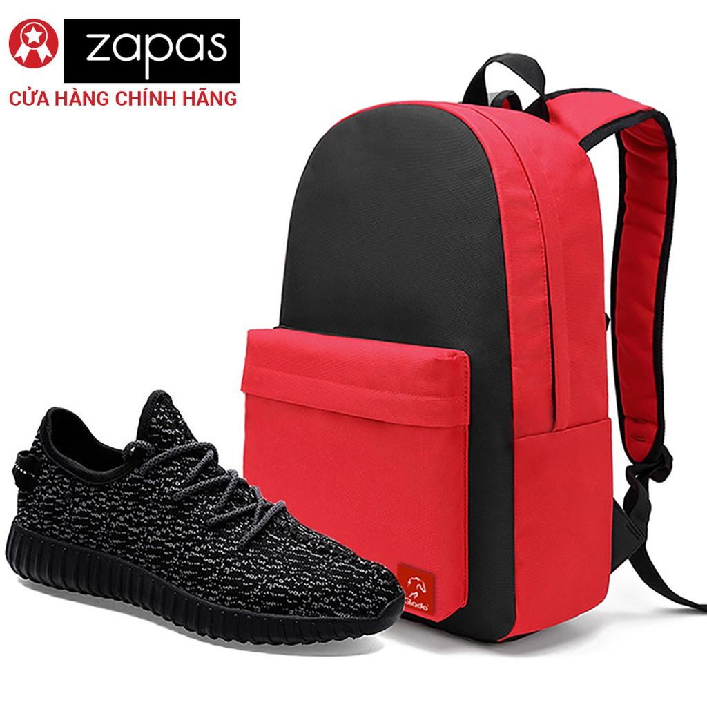 Combo Balo Classical Glado BLL004 (Đỏ Phối Đen) + Giày Sneaker Thời Trang Zapas (Màu Đen-Trắng) - GS - 3015222 , 420318613 , 322_420318613 , 400000 , Combo-Balo-Classical-Glado-BLL004-Do-Phoi-Den-Giay-Sneaker-Thoi-Trang-Zapas-Mau-Den-Trang-GS-322_420318613 , shopee.vn , Combo Balo Classical Glado BLL004 (Đỏ Phối Đen) + Giày Sneaker Thời Trang Zapas (M