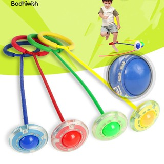 ☎Flash Kids Jump Ball Outdoor Sports Foot Skip Fitness bauble Gift