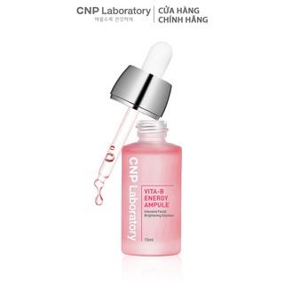 Tinh chất hồng 7 loại Vitamin B phục hồi và làm sáng da CNP Laboratory Vita-B Energy Ampule 15ml