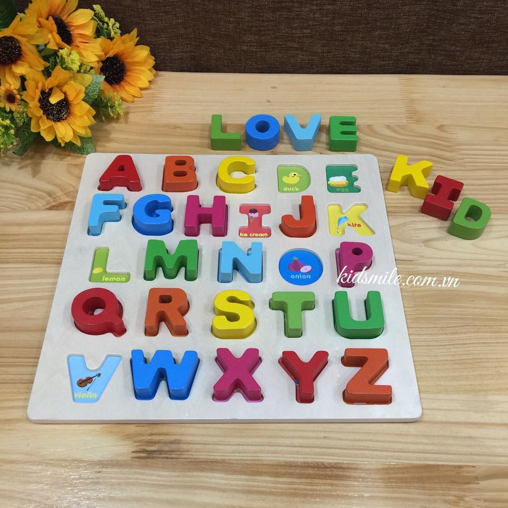 Bảng nhận biết các chữ cái tiếng Anh cơ bản