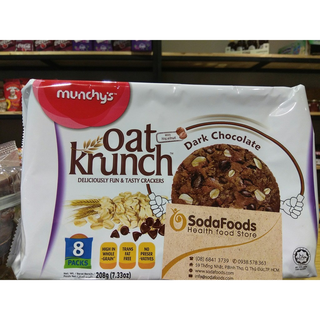 Bánh yến mạch Munchy's Chocolate – Oat Krunch - 2389909 , 285077079 , 322_285077079 , 33000 , Banh-yen-mach-Munchys-Chocolate-Oat-Krunch-322_285077079 , shopee.vn , Bánh yến mạch Munchy's Chocolate – Oat Krunch