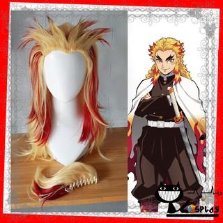 [Có săn] Wig cosplay Rengoku (tóc giả hóa trang Rengoku) – Viêm trụ