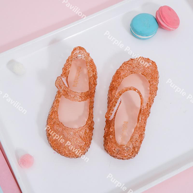 Giày Nhựa Mềm Kiểu Công Chúa Cho Bé Gái