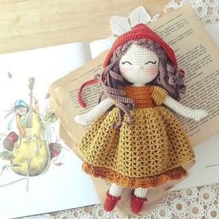 Búp bê nhồi bông nàng Odri Bebek handmade