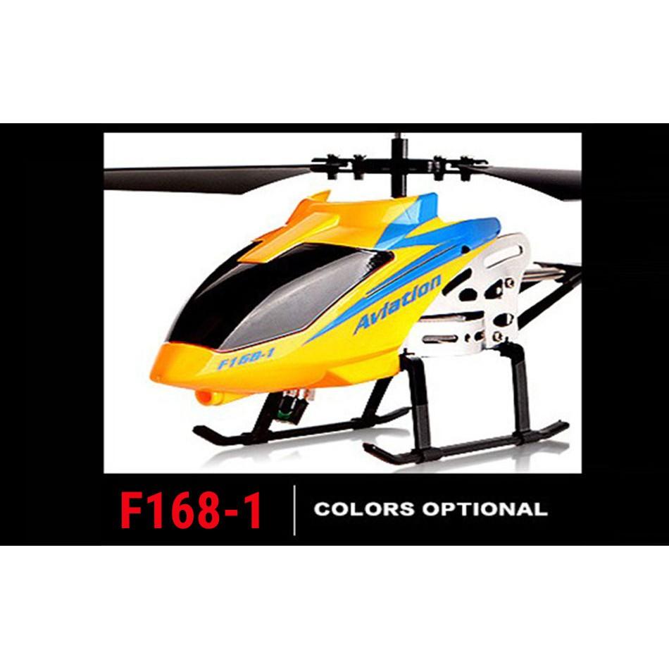 Máy bay điều khiển từ xa trực thăng điều khiển từ xa F168-1 màu ngẫu nhiên