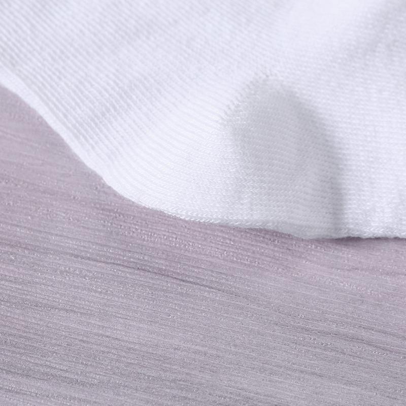 Vớ cotton trắng thoáng khí cho bé trai & gái